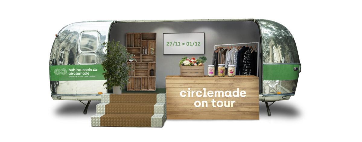 Circlemade on Tour: de Zero Waste-caravan komt naar je toe!