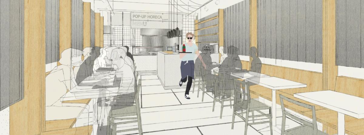 Kokotte pop-up restaurant welcomes its first occupant!
