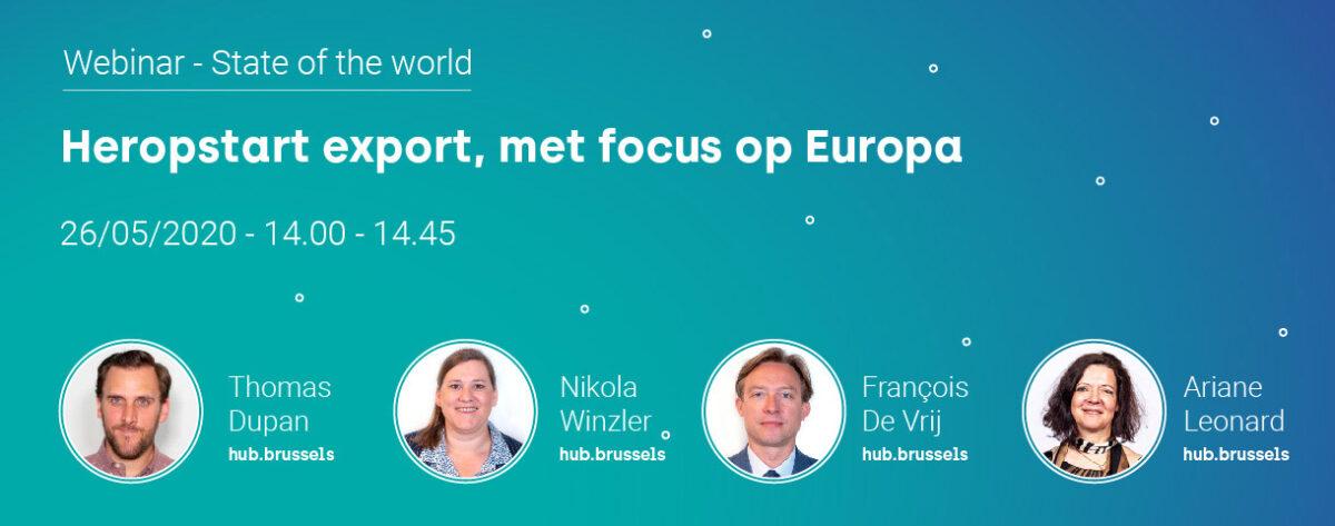 Webinar 'State of the world': Europa