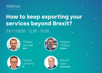 How to keep exporting your services beyond Brexit