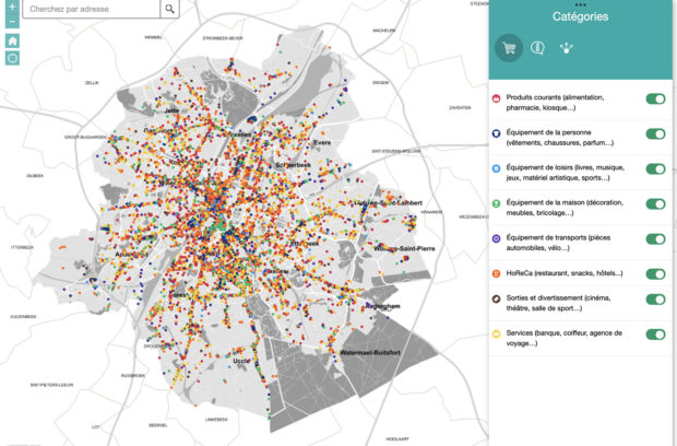 An interactive map to reference your business