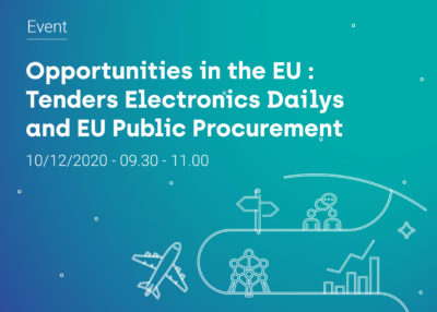 Quelles opportunités en Europe: découvrez l'outil Tenders Electronics Dailys