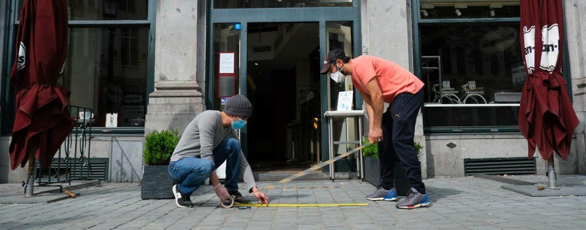 Ontvang het 'Brussels Health & Safety'-label voor je (horeca)zaak