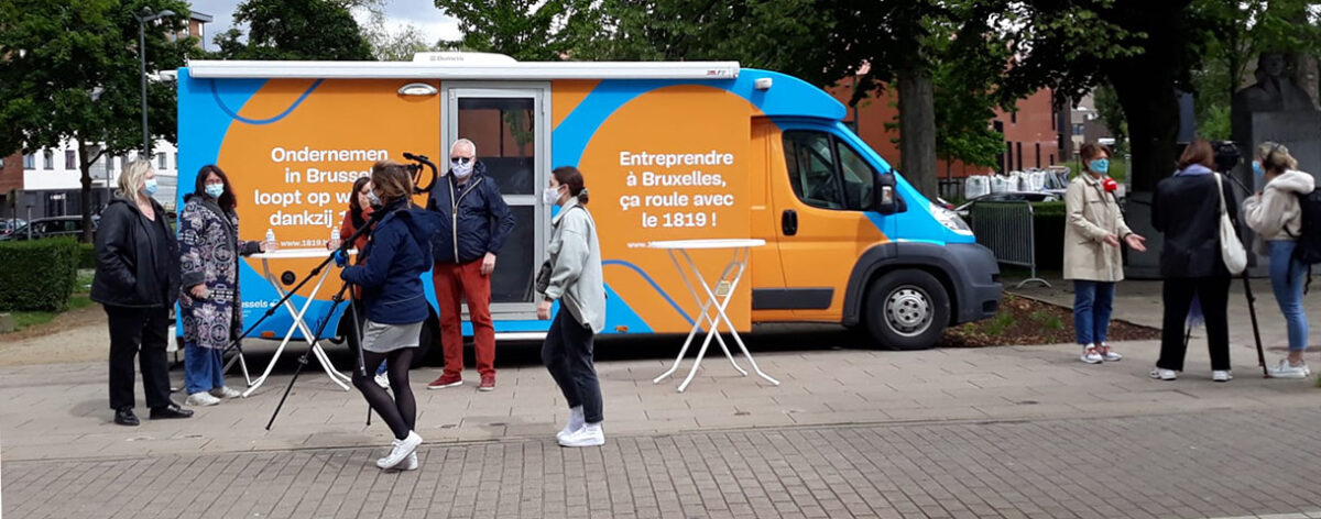 Infobus and other new initiatives to support Brussels retail