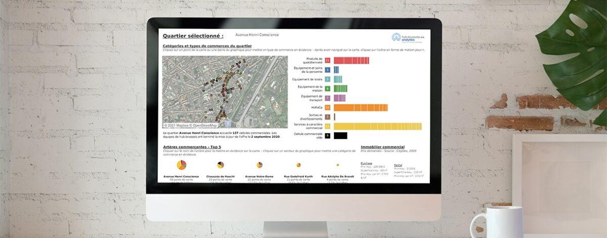 Analytics: economische databank van hub.brussels toegankelijk voor grote publiek
