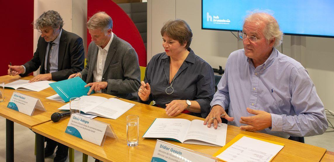 Een eerste beheerovereenkomst voor hub.brussels