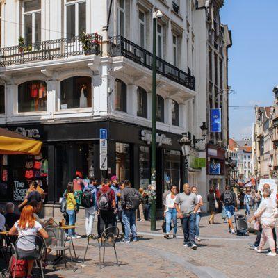 De structuur van de handel in Brussel