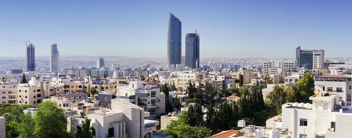 Le marché jordanien