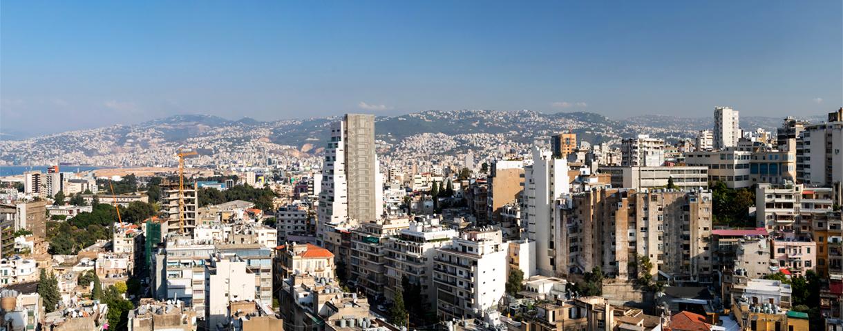 Le marché libanais