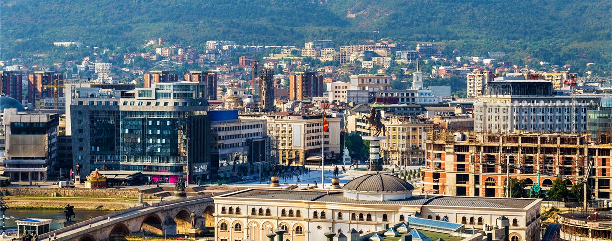 Le marché macédonien