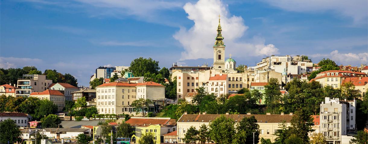 Le marché serbe
