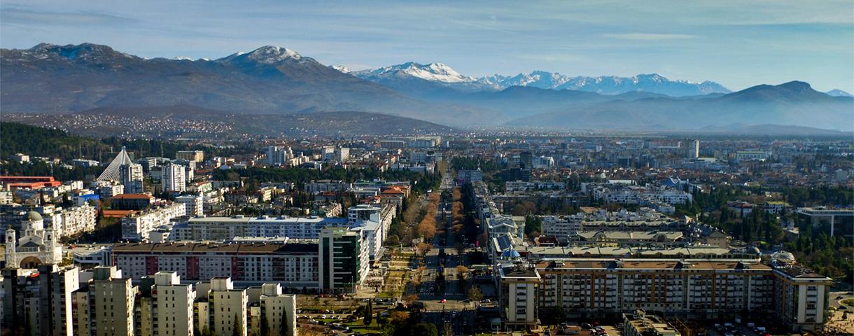 De Montenegrijnse markt