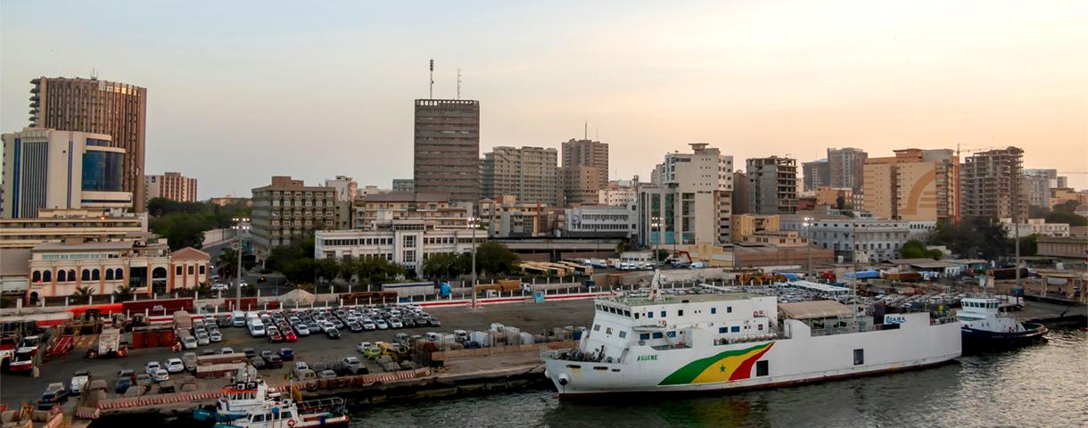 Prinselijke missie in Senegal