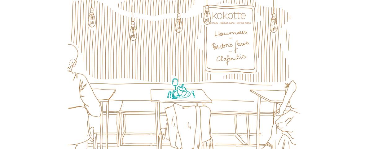 Kokotte: de kandidaturen voor onze Horeca incubator zijn geopend!