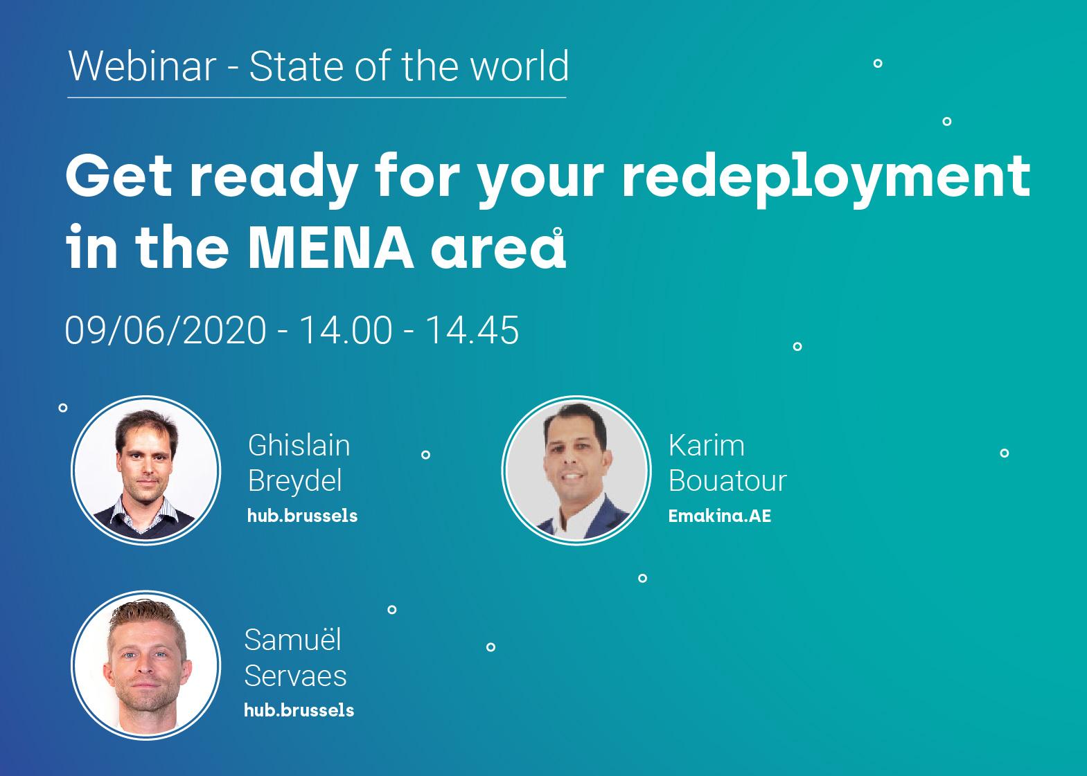 State of the world: MENA (webinar)
